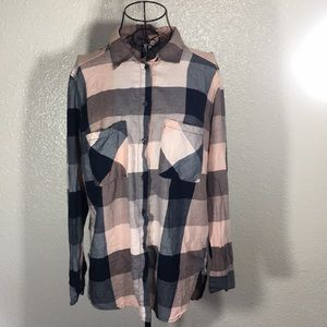 H & M | Flannel Top